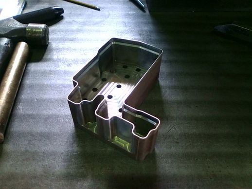 0.5mm精度、加工